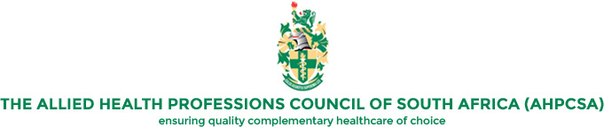 The Allied Health Professions Council of South Africa